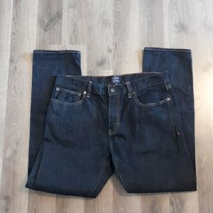 J.Crew Factory Women's Dark Wash THE DRIGGS 33x30